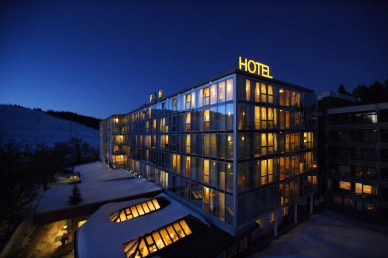 Das Hotel Feldberger Hof - Jetzt mit eigenen Durchsagen über die Musicbox Deluxe