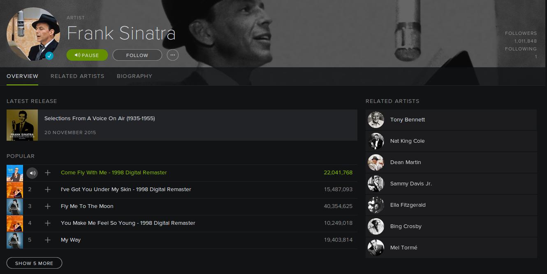 Bietet zahllose Playlisten für jeden Anlass: Spotify